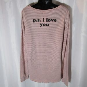 p.s. i love you graphic tee